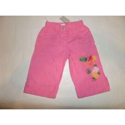 86-os rózsaszín virágos térdnadrág - Kanz