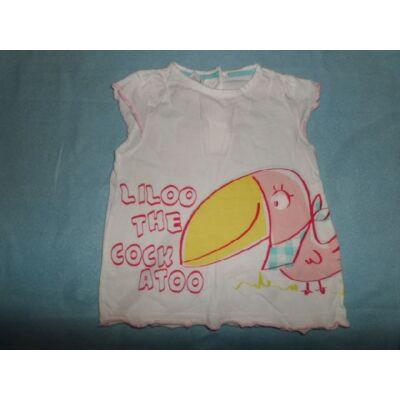 80-as madárkás póló - C&A