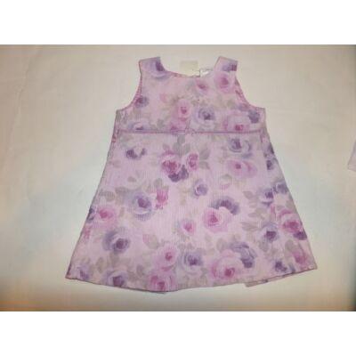 86-os lila virágos ujjatlan ruha - Next