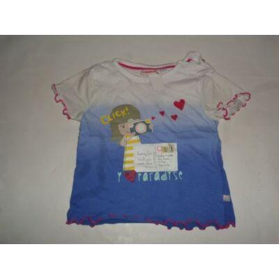 80-as kék kislányos póló - Liegelind