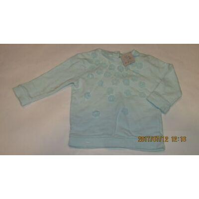 68-as kék virágos pulcsi - F&F