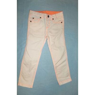 92-98-as fehér lány nadrág - Miniclub
