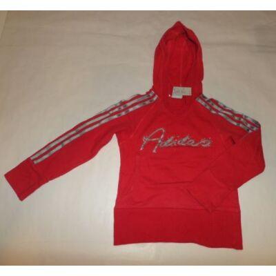 128-as piros lány pulóver - Adidas