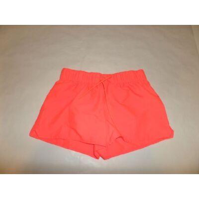 170-es neon- narancssárga short - Decathlon