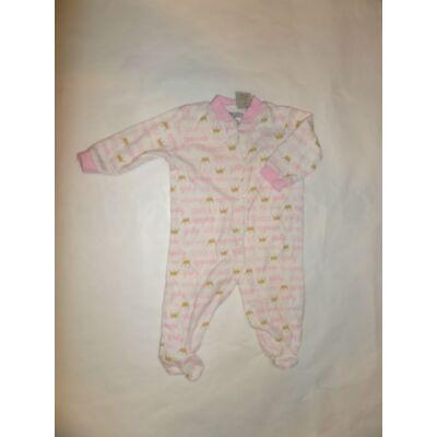 62-68-as rózsaszín feliratos hosszúujjú rugi - Baby Gear
