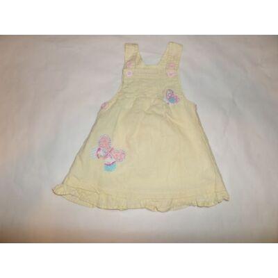 68-as sárga pillangós ruha - Next