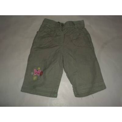 80-86-os khaki virágos nadrág