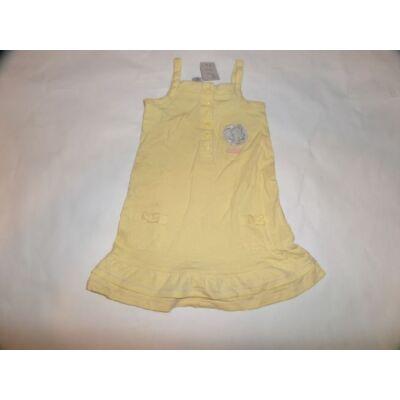 86-os sárga egeres pántos ruha - C&A