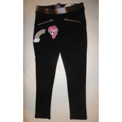 98-as fekete nadrág - My Little Pony - ÚJ