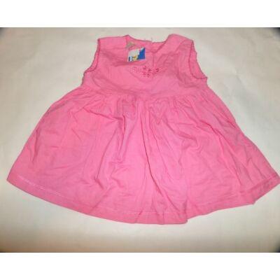 68-as rózsaszín virágos ujjatlan ruha - Tiny Ted