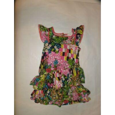 122-es színes virágos ruha