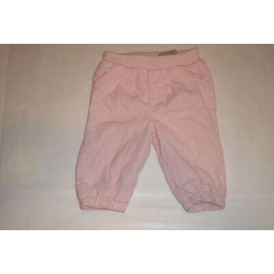 68-as rózsaszín pamuttal bélelt kordnadrág - F&F
