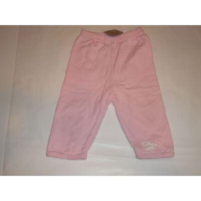 68-as rózsaszín tréningalsó, pamutnadrág