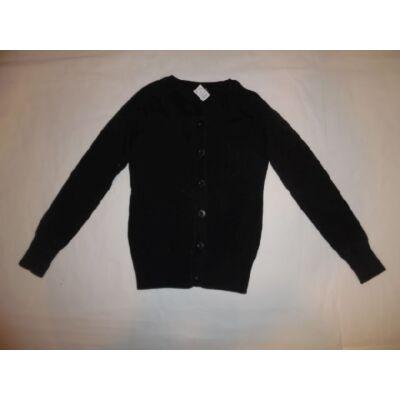 146-152-es fekete kötött lány kardigán - felicity.hu használt ruha ... ac7f4244e1