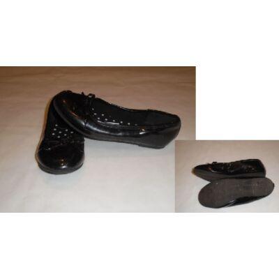 33-as fekete csillogó balerina cipő - Graceland