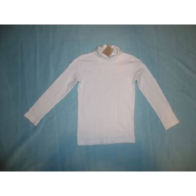 92-98-as fehér garbónyakú pamutfelső - Tezenis