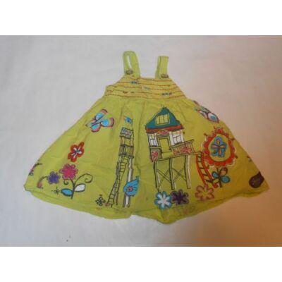 86-os sárga házikós ruha - Next