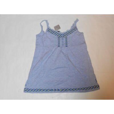 116-122-es kék spagettipántos póló