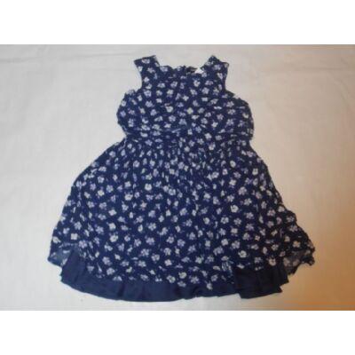 122-128-as lila virágos alábélelt ruha - George