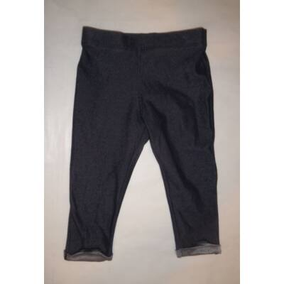 80-86-os kék leggings - F&F