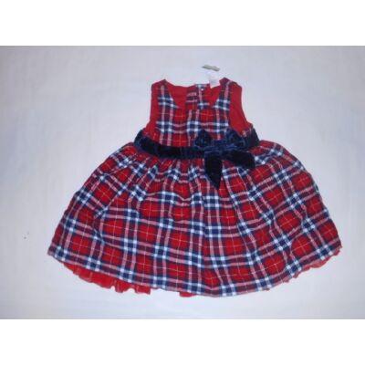 68-as kék-piros kockás ujjatlan ruha - Next