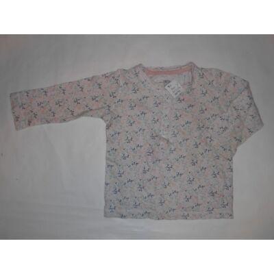 80-as drapp mintás lány pamutfelső - H&M