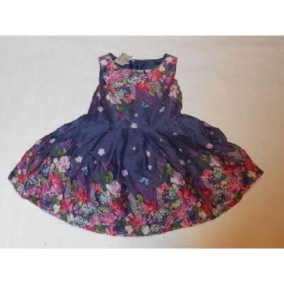 80-86-os kék virágos ruha - Rocha