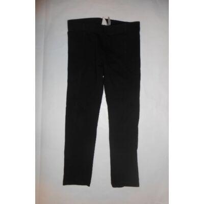 116-os fekete pamutnadrág - H&M