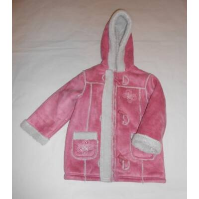 104-es rózsaszín szőrmés télikabát - Cherokee