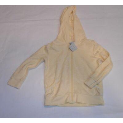 104-110-es sárga pamut kardigán - F&F