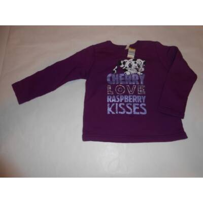 98-as lila kutyás pulóver