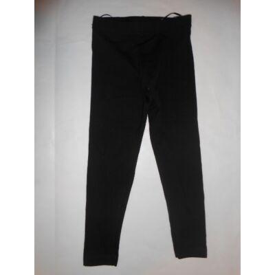 104-es fekete  egyszínű leggings - Kiki & Koko - ÚJ