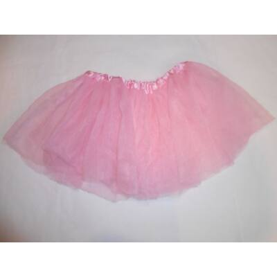 10-12 évesre rózsaszín tüllszoknya