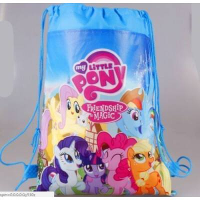Kék tornazsák - My Little Pony - ÚJ