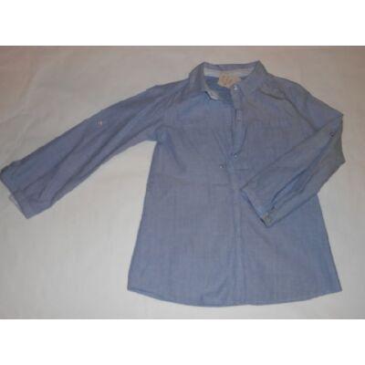 104-es kék hosszúujjú blúz - Zara
