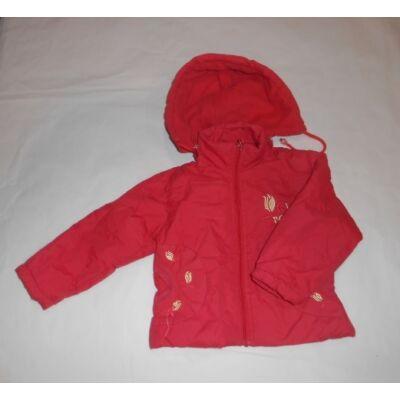 86-92-es piros hímzett télikabát