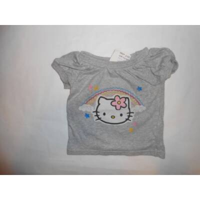 80-as szürke póló - Hello Kitty