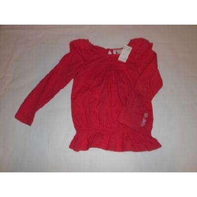 122-es pirosas fodros aljú pamutfelső - Rocha