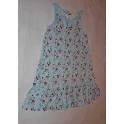 110-es kék cseresznyés ujjatlan ruha - H&M