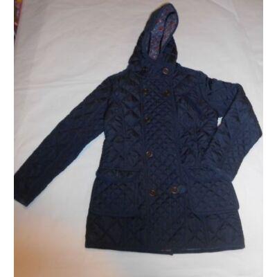 152-es kék steppelt lány átmeneti kabát - Next