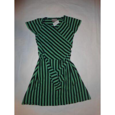 116-os zöld-fekete csíkos ruha - Next