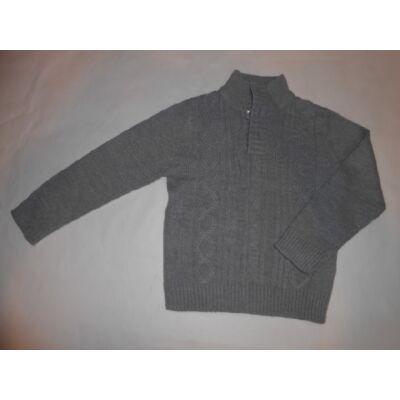 116-os szürke fiú kötött pulóver - In Extenso