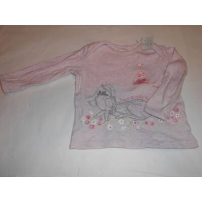80-as rózsaszín pamutfelső - Bambi