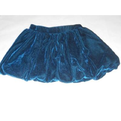 122-es kék plüss szoknya - C&A