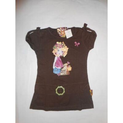 122-es barna lányos póló - C&A