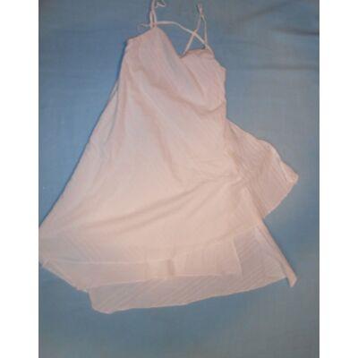 134-es fehér pántos ruha - Mandarino