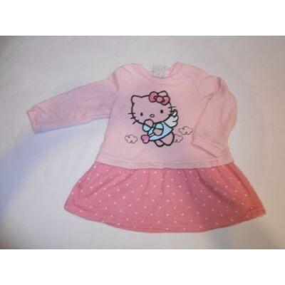 80-as rózsaszín ruha - Hello Kitty