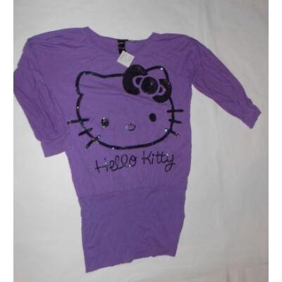 158-164-es lila tunika - Hello Kitty