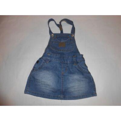 110-es kék kantáros farmer ruha - C&A