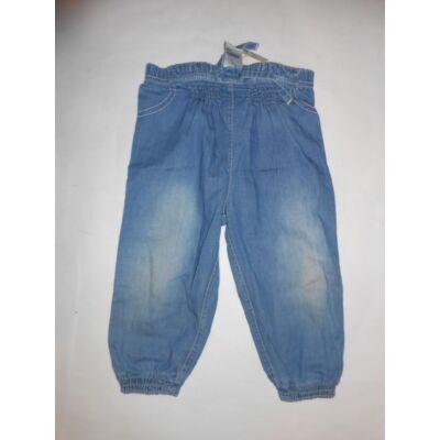 86-os kék lány vékony farmernadrág - F&F